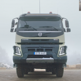 Volvo Trucks, lasbil på väg